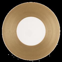 HEMISPHERE CUIVRE - Assiette de présentation 32 cm