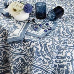 st.tropez tablecloth-sizes-blue-tablecloth